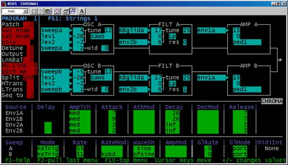 Rhodes Chroma · MS-DOS Editors & Librarians