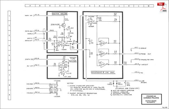 rhodes chroma  u00b7 polaris service manual  schematics  pc