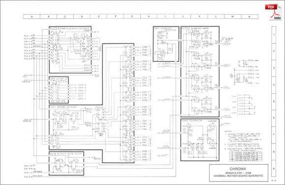 rhodes chroma  u00b7 service manual  schematics  u0026 drawings