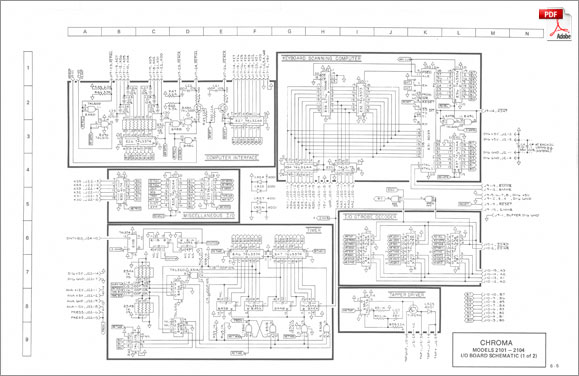 rhodes chroma · service manual schematics  drawings, schematic