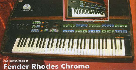 Rhodes Chroma · Synthesizer Magazin