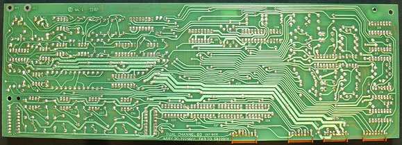 Back of 33-82 Rhodes voice board