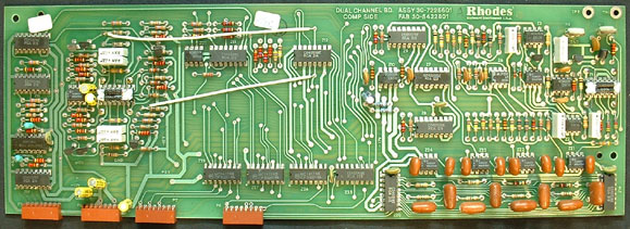 Front of 33-82 Rhodes voice board